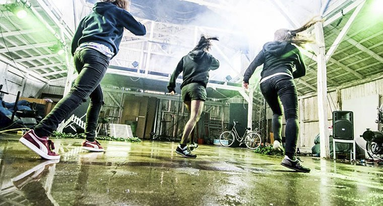 Hip hop dans på efterskole