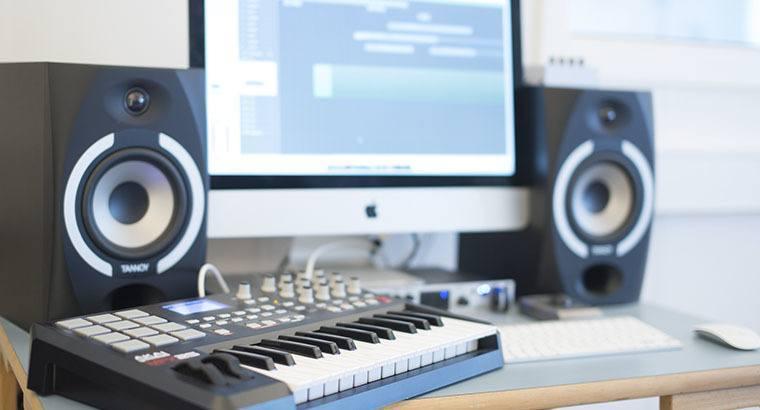 Vi laver elektronisk musik