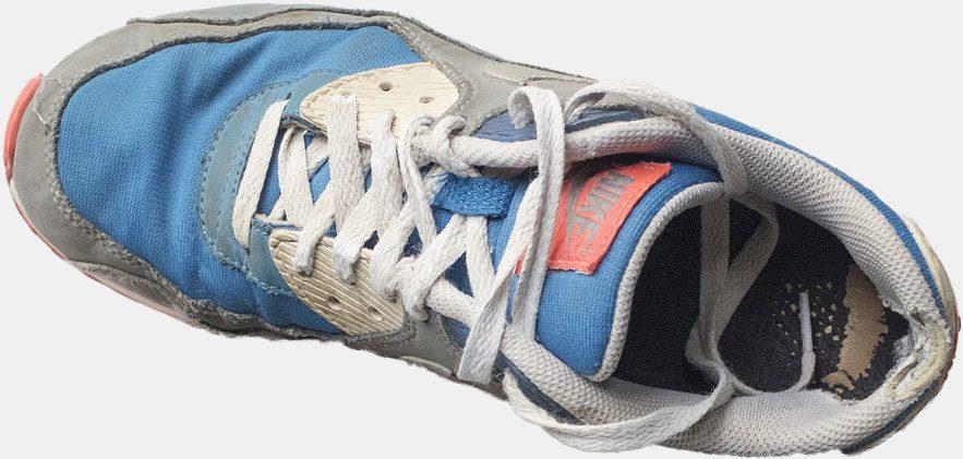 Gammel sko